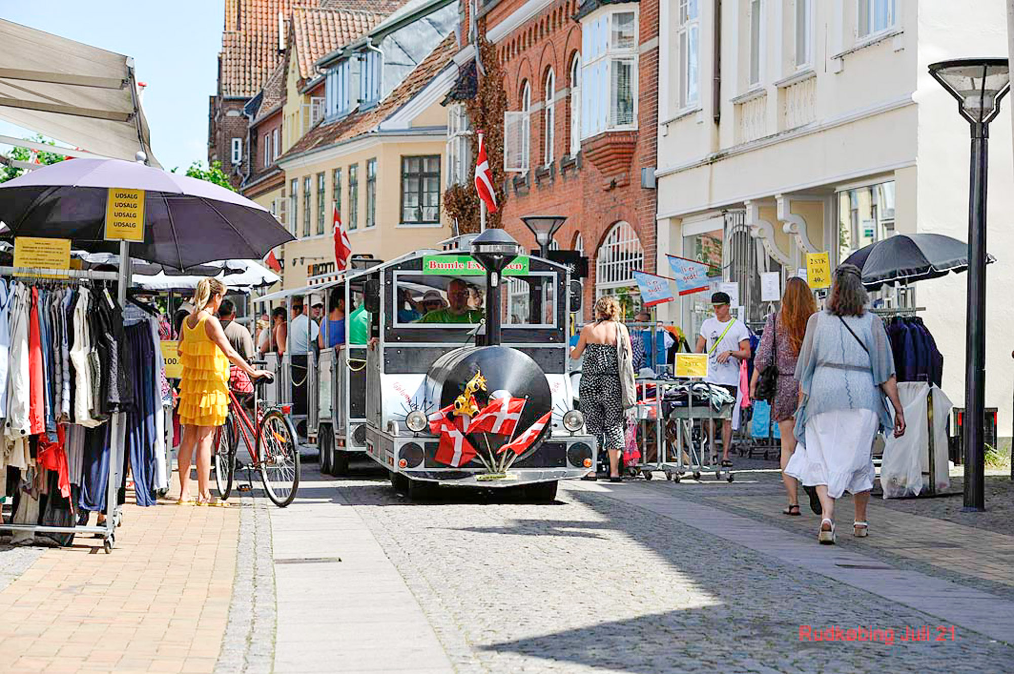 Rudkøbing Handelstandsforening - Langelandsfestival tog