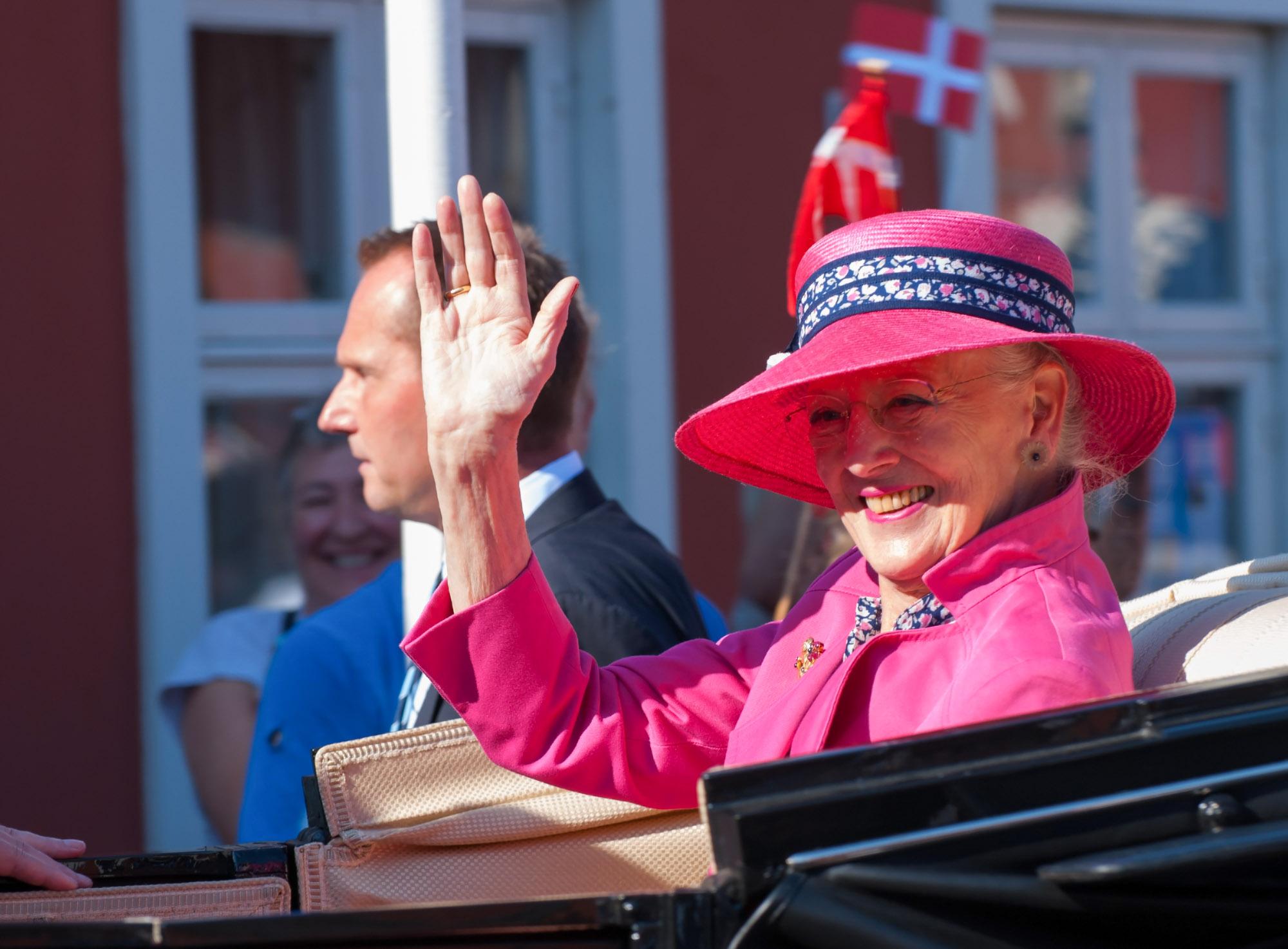 Rudkøbing Handelstandsforening - Dronning Margrethe på besøg