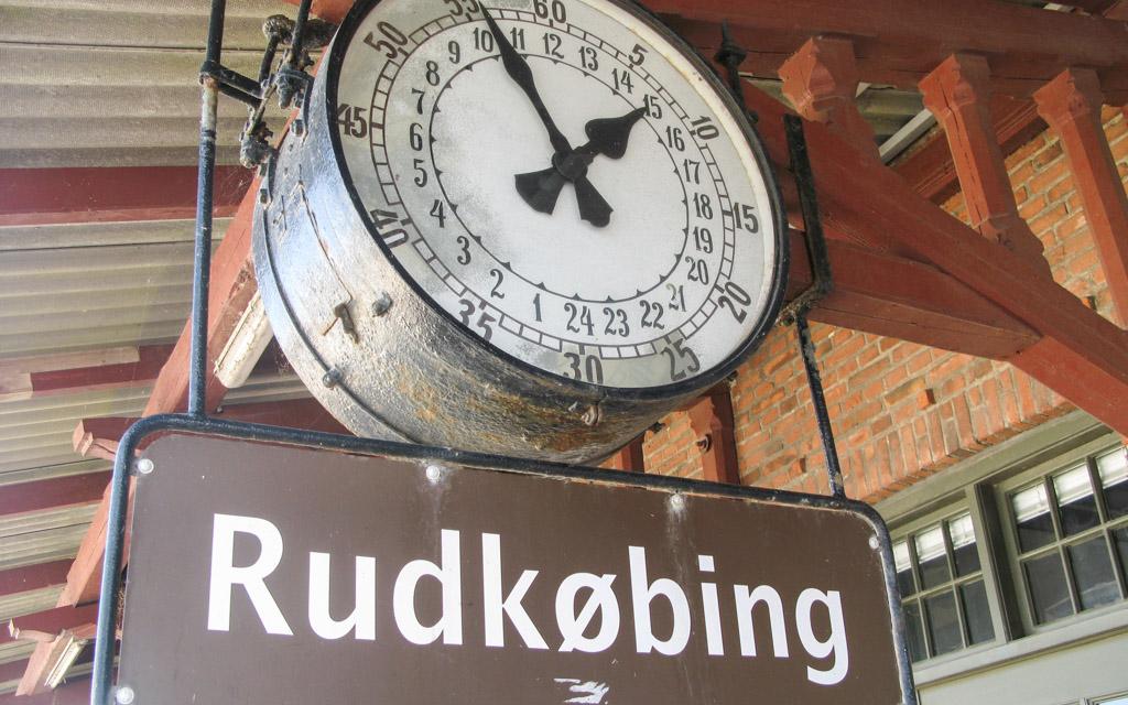 Rudkøbing Handelstandsforening - Den gamle station i Rudkøbing