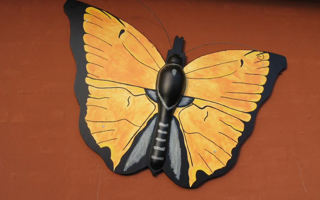 Rudkøbing Handelstandsforening - Hc. ørsted sommerfugle