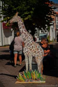 Langelands festival giraf i byen